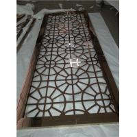 laser cut stainless steel plate for interior decoration raw materials with color coat Manufactures