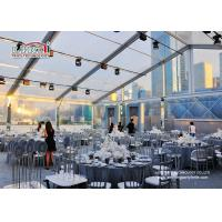 Waterproof Outdoor Event Tents Large Capacity 300 Guest Transparent Manufactures