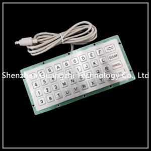 Outdoor Embedded Numeric Keypad Ip65 40 Keys Type For Kiosk / Elevator / Atm Manufactures