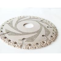 Wet / Dry Cut Diamond Concrete Saw Blades , Diamond Disc Cutter Blades 4.5 - 16 Manufactures