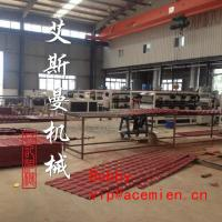 China Replace clay tile- plastic roof tile making machine on sale