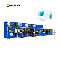 China Automatic HC-PDM Disposable Breast Pad Machine 140kw on sale
