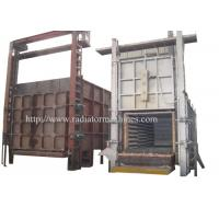 China All Fiber Type Electric Bogie Hearth Furnace 1 Year Warranty on sale