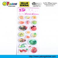 China magic 3D Lenticular Sticker on sale
