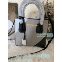 New Knockoff Michael Kors Mercer Grey Genuine Leather Women's Bag Manufactures