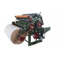 Automatice PET Fiber Nonwoven Carding Machine For Spray - Bonded / Chemical Bonded Manufactures