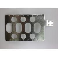 Multi Holes Tin Plated Copper Sheet / Custom Electrical Grade Copper Bar Manufactures