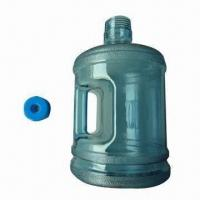 China 1-gallon Plastic Water Bottle with Handle, Made of BPA-free Material on sale