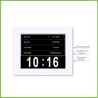 China 8 inch Digital Calendar Alarm Day Clock with 3 Alarm Options, Extra Large Non-Abbreviated Day & Month on sale