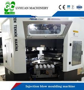 Yogurt Bottle Injection Molding Machine IB50 Automatic Injection Blowing Machine PP PE PS Manufactures