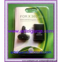 Xbox360Slim Battery Pack & Chargeable Cable xbox360 game accessory Manufactures