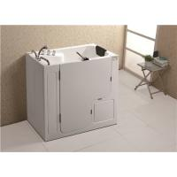 Quality Stainless Steel Frame Walk In Bath And Shower / Portable Walk In Tub 300W Blower Pump for sale