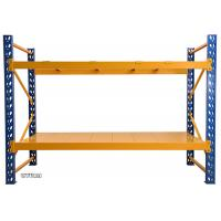 Anti Corrosion Warehouse Storage Shelves , Industrial Warehouse Shelving Robot Welding Manufactures