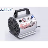 Small Mini Air Compressor For Airbrushing Auto Start / Stop Fuction For 0.2-0.5mm Nozzle Manufactures