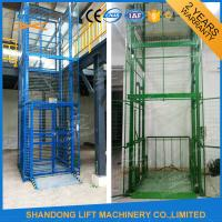 1.5 ton 7.5m Guide Rail Electric Hydraulic Warehouse Elevator Lift for Cargo Lifting Manufactures