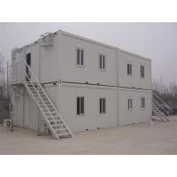 Prefab Flat Roof  Multi Stories Container Building Warehouse New Industrial Building Manufactures