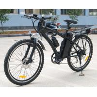 Lithium 36V 10Ah Battery Adult Electric Moped Bike With 250w Brush Engine Manufactures