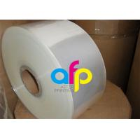 "Flexible Packaging BOPP Heat Sealable Film , 3"" Core BOPP Transparent Film Manufactures"