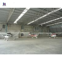 Buy cheap Q235 Anti Rust Wind Resistant Prefab Steel Frame Hangar for aircraft from wholesalers
