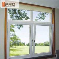 China Double Safety Tilt And Open Windows , Aluminum Tilt And Turn Windows on sale