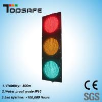 High Luminance LED Traffic Signal Light with 3 Sections (TP-JD200-3-203) Manufactures