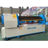 High Speed Rolling Pipe Bending Machine , 3 Roll Plate Bending Machine W11-8x3200mm Manufactures