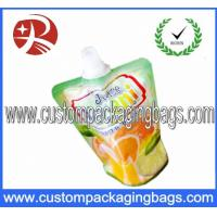Stand Up Plastic Food Packaging Bags , Disposable food packaging Manufactures