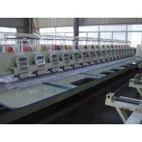 Original Multi Color Embroidery Machine , Large Embroidery Machine 18 Heads With LCD Screen