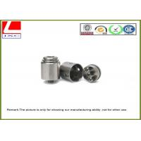 CNC Precision Turning Female Thread Stainless Steel Machining Auto Parts Manufactures