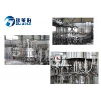 High Technology Soda Beverage Soft Drink Filling Machine Energy Saving Manufactures