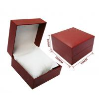 custom made black red decorative closure rigid cardboard jewelry gift box with pillow insert Manufactures