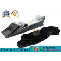 Automatic Metal Poker Card Shuffler And Playing Card Dealer Shoe With Baccarat System Display Manufactures