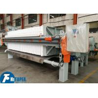 High Efficiency Industrial Filter Press Solid And Liquid Dewatering Ce Certificate Manufactures