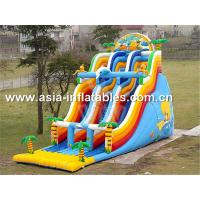 Cool The Summer,Inflatable Water Slide For Water Park Games Manufactures