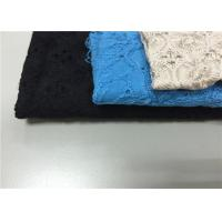 Eco Friendly 100% Dyed Cotton Fabric Plain Baby Cotton Fabric For Ladies Dress Manufactures