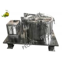 CBD Oil Extraction Chemical Basket Centrifuge Equipment Industrial ISO Manufactures