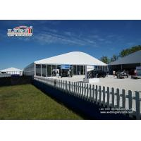 White Wedding Party Marquee / Outdoor Clear Span Marquee Hire Manufactures