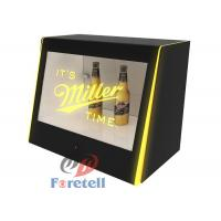 Quality Interactive Transparent Touch Screen Monitor Lcd Window Display Box MP3 Audio Format for sale