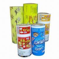 Plastic packing with Printed Rolls and Film in Rollstocks, Made of Laminated Compound Manufactures