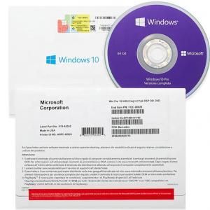 China 32/64 Bit Windows 10 Pro OEM Key Code License OEM Version Online Activation on sale