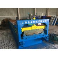 Self Lock Roof Panel Roll Forming Machine , Corrugated Roofing Sheets Making Machines for sale