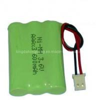 China AAA 3.6V Ni-MH Rechargeable Battery on sale