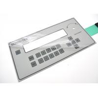 Anti Corrosion Membrane Switch Panel With 3M Permanent Acrylic Adhesive Manufactures