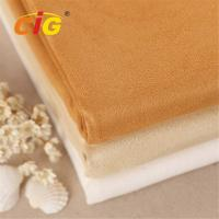 Abrasion resistant upholstery 100 polyester suede fabric for sofa for car seat for shoes for Upholstered sofas and loveseats
