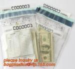 Tamper Evident Security Bank Deposit Bag,tamper proof security bag, jewelry