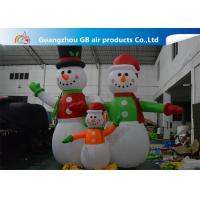 China Giant Inflatable Snowman Blow up Christmas Santa Claus Yard Decoratoin on sale