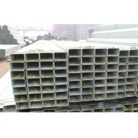 Q345 BSEN10219 Hot Dipped Galvanized Steel Pipe , Zinc Coated Steel Square