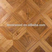 China cheap parquet solid wood flooring on sale