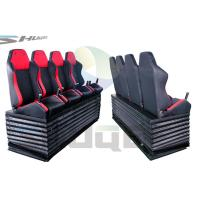 Hydraulic / Pneumatic / Electromotive Control System 4D / 5D / 7D Motion Theater Chair Manufactures
