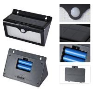 Waterproof 46 LED Solar Motion Sensor Light , Solar Powered Led Security Light Motion Detector Manufactures